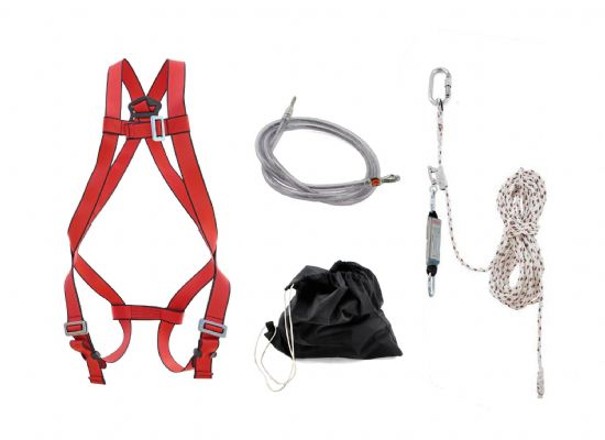 Adjustable Fall Arrest & Restraint Kit